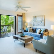 Modern, Spacious, Immaculate, 1bed/1bath Villa, Sleeps 4, in the Heart of Poipu!