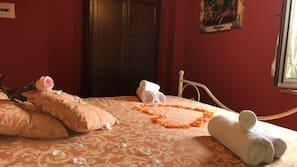 埃及棉床單、高級寢具、迷你吧、免費 Wi-Fi