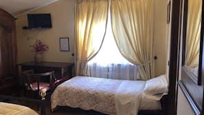 高档床上用品、迷你吧、遮光窗帘、免费 WiFi