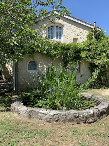 18th Century Gascon cottage with private pool and large grounds