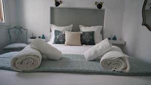 1 chambre, literie de qualité supérieure, fer et planche à repasser