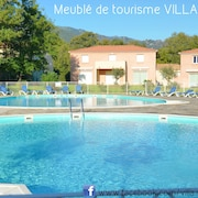 Villa 3 * 62m 2ch, Closed Residence, Swimming Pools, Wi-fi, Parking, Quiet 800m Sea