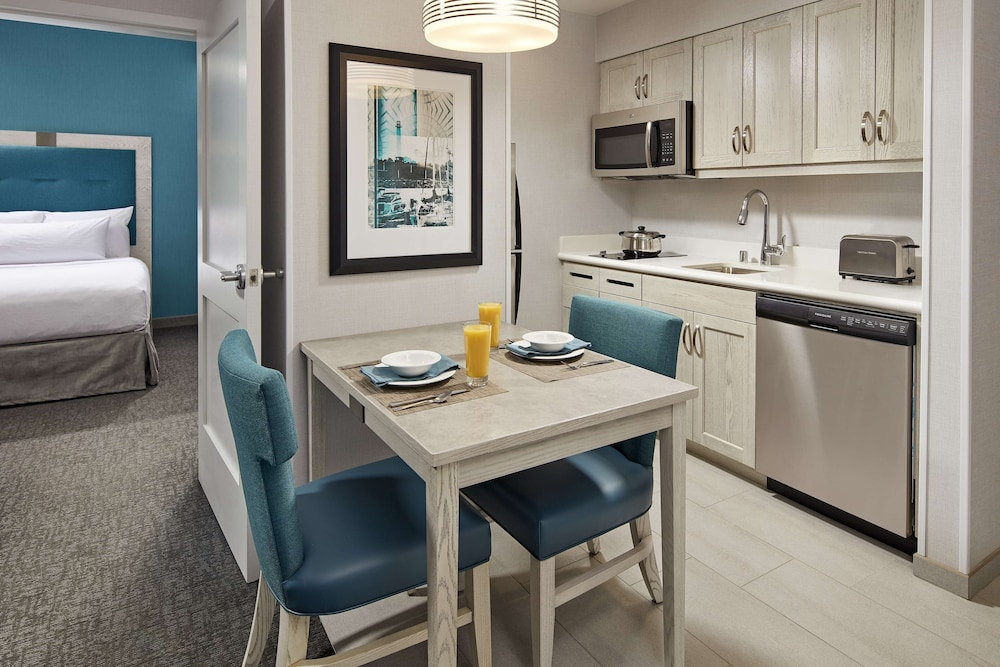 Private Kitchen, Homewood Suites by Hilton Long Beach Airport