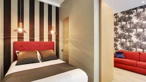 2 間臥室、高級寢具、設計每間自成一格、家具佈置各有特色