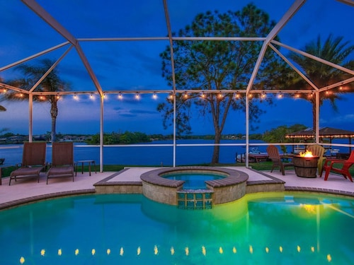 Great Place to stay Lakefront Luxury Pool/hot Tub Home *long Term Furnished Rental* near Brandon