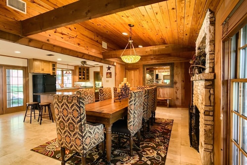 Check Expedia for Availability of Creekside: 16 Private Acres | Sleeps From 10-20 | Family Reunions