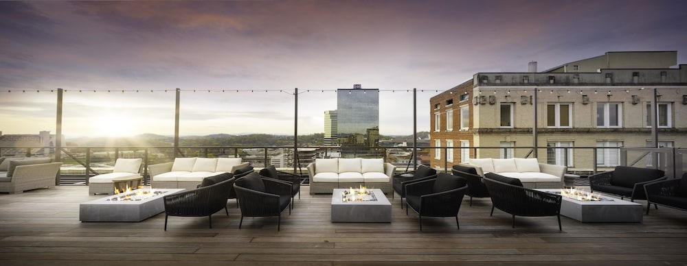 Terrace/Patio, Hyatt Place Knoxville Downtown