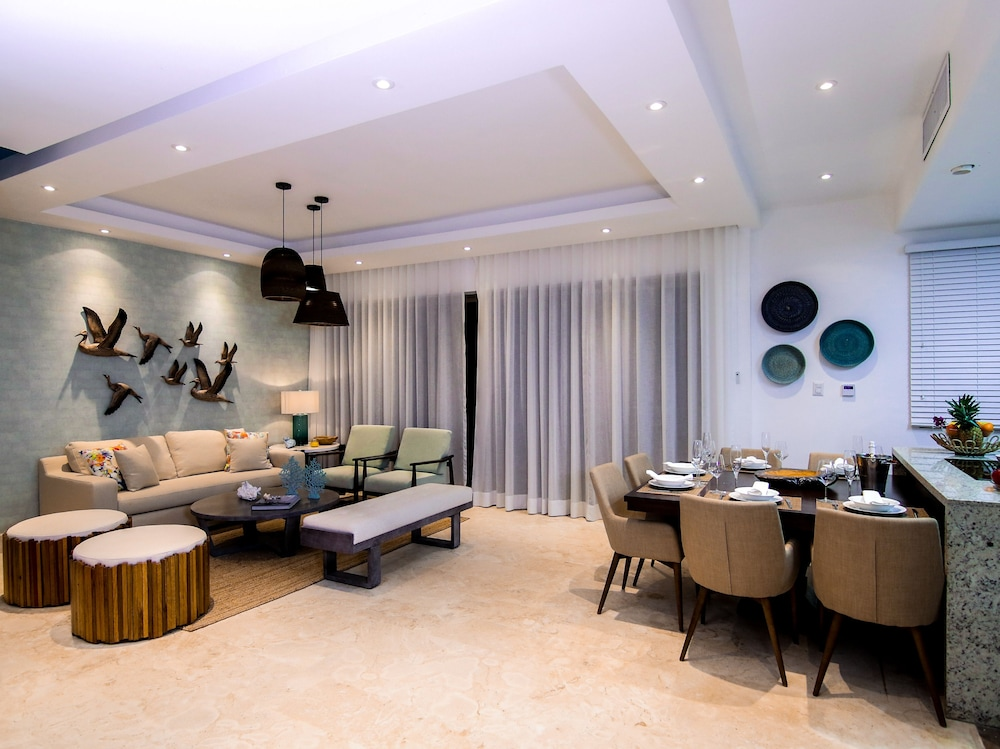 Living Area, Beach Rock Condo Boutique