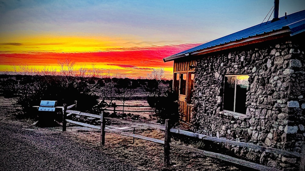 Property Grounds, Rare Find AT Palo Duro Canyon! Large,, Rustic, Secluded Cabin Sleeps 2, 5 or 9