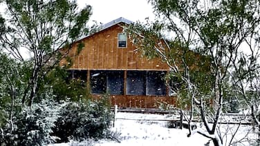 Rare Find AT Palo Duro Canyon! Large,, Rustic, Secluded Cabin Sleeps 2, 4 or 8