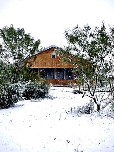 Featured Image, Rare Find AT Palo Duro Canyon! Large,, Rustic, Secluded Cabin Sleeps 2, 5 or 9