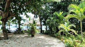 Sulla spiaggia, immersioni subacquee, snorkeling