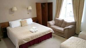 Premium bedding, rollaway beds, free WiFi