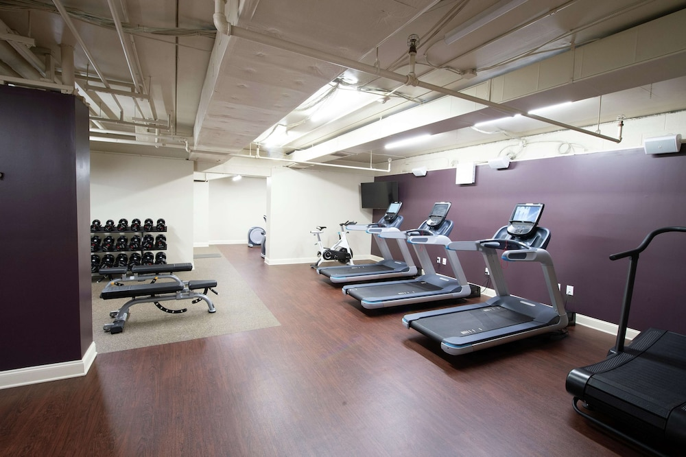 Fitness Facility, Virginia Crossings Hotel, Tapestry Collection by Hilton