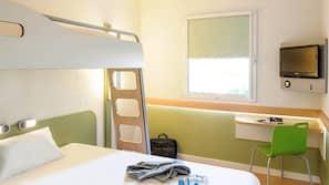 Bureau, chambres insonorisées, Wi-Fi gratuit
