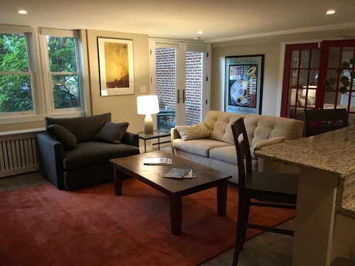 Check Expedia for Availability of Great Apartment in Beautiful DC Neighborhood