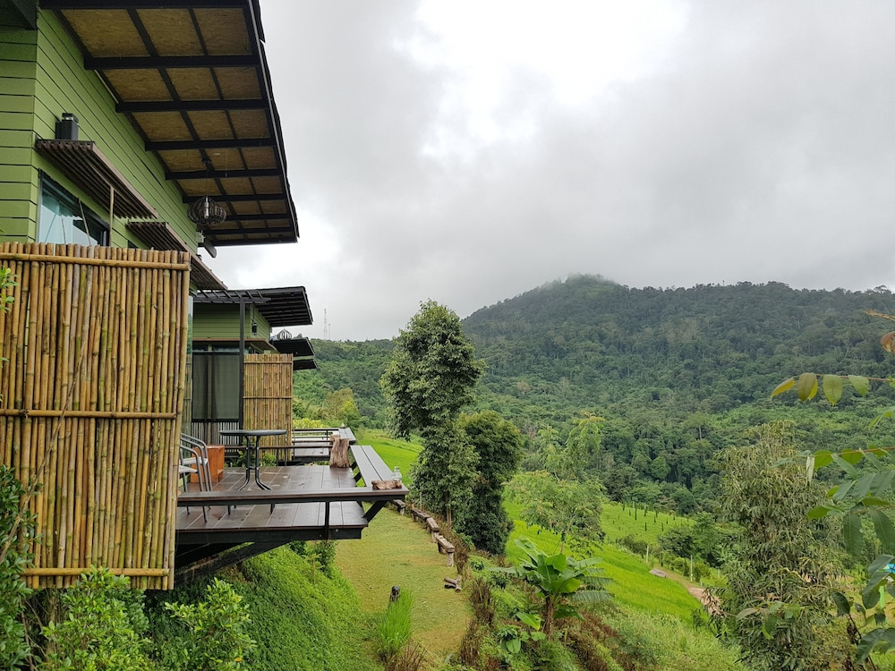 View from Room, The Proud Green Garden Hill Resort