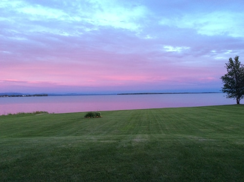 Check Expedia for Availability of Phenomenal Lake Champlain Home, Direct Lake Acesss, Mountain Views