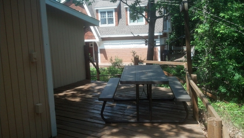 Balcony, Lake Michigan Beachfront! Private Beachfront!