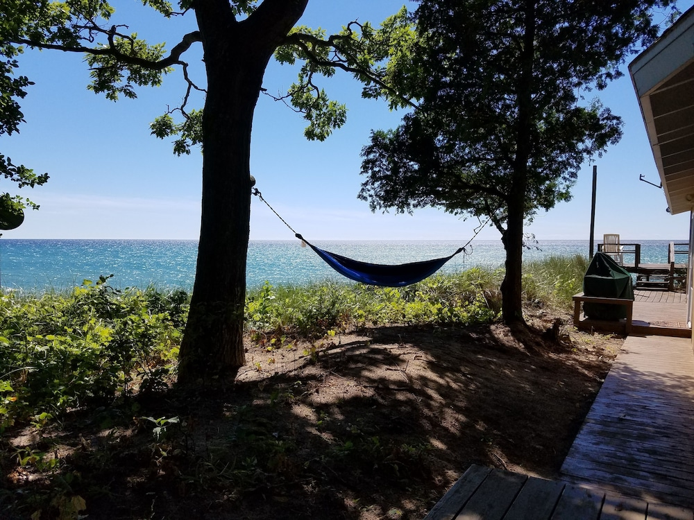 Property Grounds, Lake Michigan Beachfront! Private Beachfront!