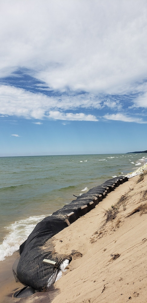 Beach, Lake Michigan Beachfront! Private Beachfront!
