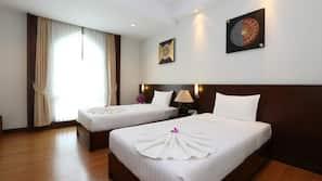 มินิบาร์, ผ้าม่านกันแสง, เตียงเสริม/เปล, Wi-Fi ฟรี