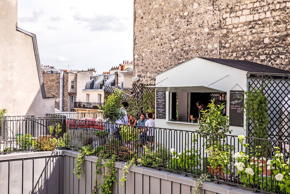 Terrace/Patio, Hôtel Des Grands Boulevards