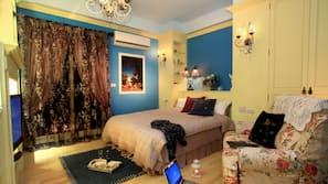1 間臥室、高級寢具、特厚豪華床墊、設計每間自成一格