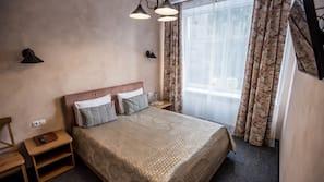Hochwertige Bettwaren, Select-Comfort-Betten, Verdunkelungsvorhänge