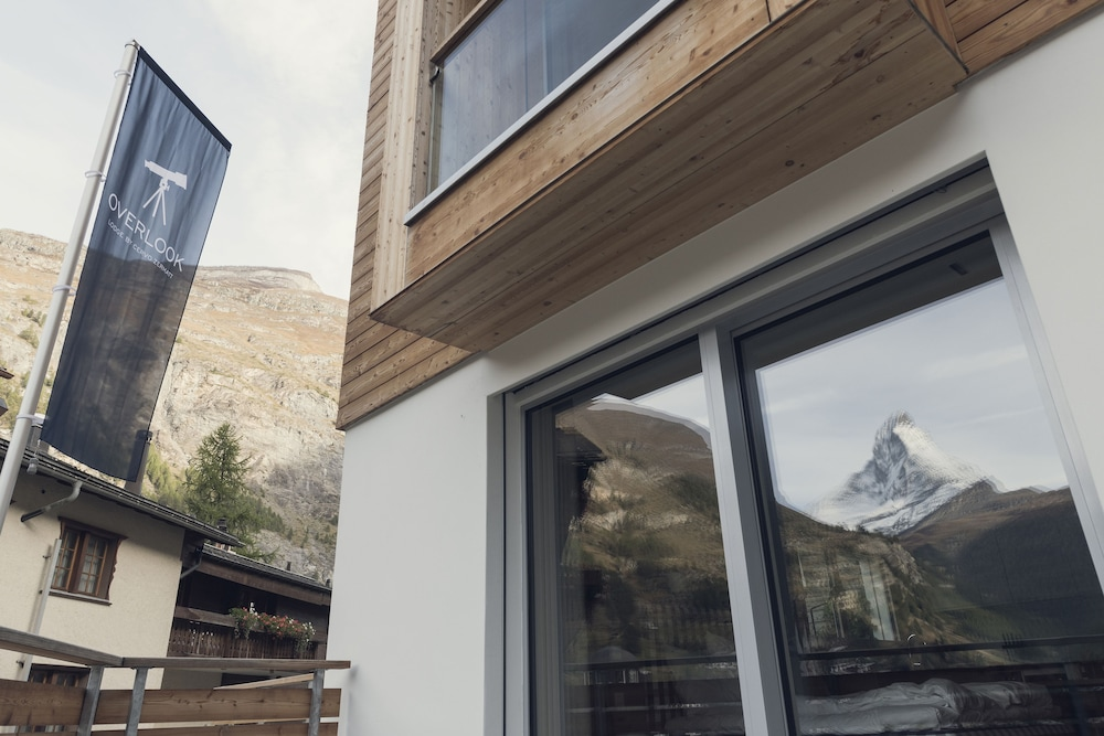 View from Room, OVERLOOK Lodge by CERVO Zermatt