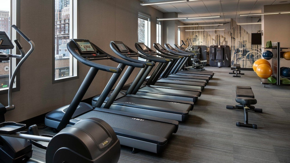 Gym, Residence Inn by Marriott Seattle Downtown/Convention Center