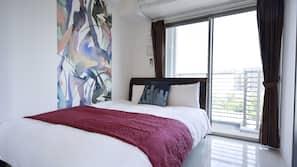1 間臥室、熨斗/熨衫板、免費 Wi-Fi