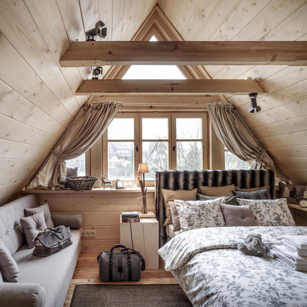 Entzuckend Außenansicht Profilbild Zimmer (Luxury Chalet, 3 Schlafzimmer, Kamin (Chalet  V)) ...