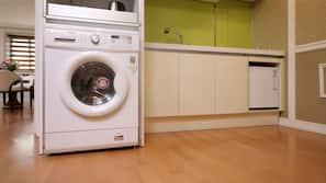 냉장고, 전자레인지, 스토브, 전기 주전자