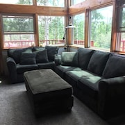 Rustic Ski Hill Cabin Conveniently Located on Your way to Grand Targhee Resort