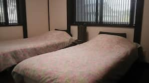 2 bedrooms, down comforters, individually decorated, free WiFi