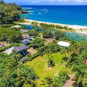 3 Bedroom Ocean View Home on Kauai's Northshore, Near Tunnels and Lumahai