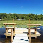 Fun And Tasteful Home On South Bar Lake Near Sleeping Bear Dunes