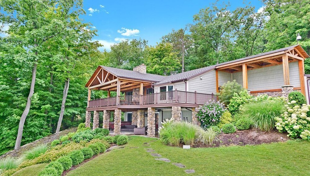 Amazing Views - Timber Frame Luxury Home on Canandaigua Lake! in ...