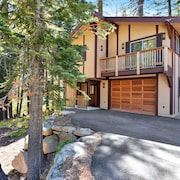 5 Bd/4.5ba. Backs to Beautiful Creek. Sleeps 12. Wheelchair Accessible