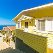 Ocean Views, Newly Furnished, 1/2 Block to Ocean & Restaurants!