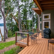 Waterfront Home With Views OF East Sound, Turtleback Mountain & Madrona Point
