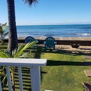 Beach Cottage ON THE Ocean 2 Bedroom 2 Bathroom . 30 Day, Contact for Details