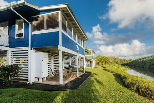 Live Your Hanalei Riverfront Vacation Dream! Tvnc#1022