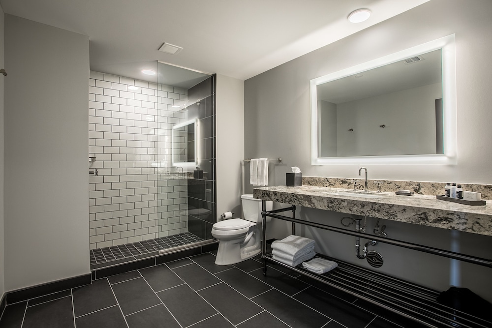 Bathroom, Cambria Hotel Downtown Dallas
