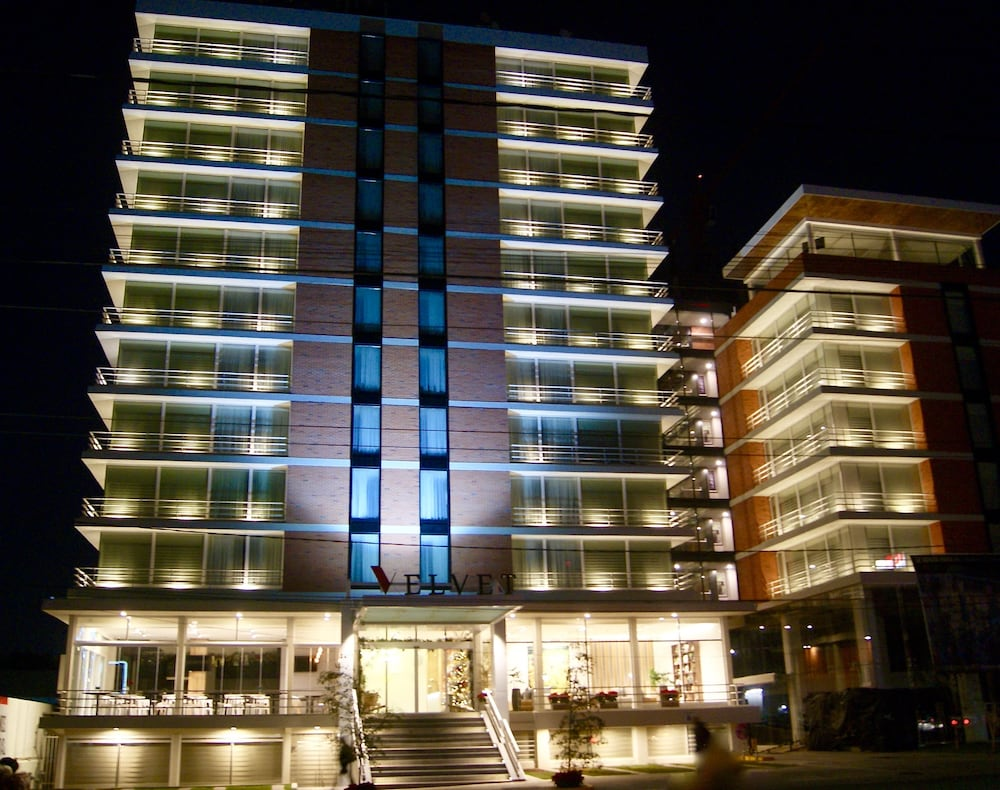 Front of Property - Evening/Night, Hotel Velvet Plaza