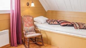 Skrivebord, mørklægningsgardiner, gratis Wi-Fi, sengetøj