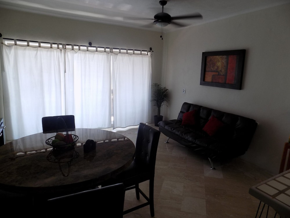 Living Room, Beautiful One Bedroom Condo At Marina Pinacate