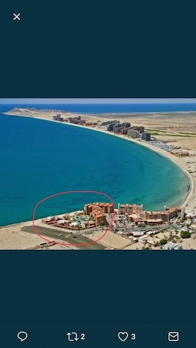 Beach, Beautiful One Bedroom Condo At Marina Pinacate