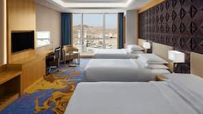 Pillowtop beds, minibar, in-room safe, desk